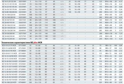 Клиновой анкер BZ plus 20-185/880 нержавеющий A4 02650501