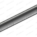 Шпилька резьбовая VM-A M16 x1000, класс пр. 8,8 .16.1088VM
