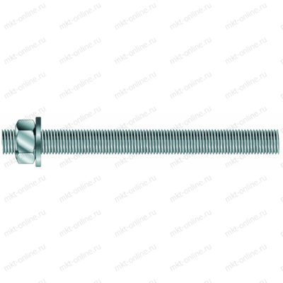 Шпилька резьбовая VM-A M24x410, класс 5.8 282024410